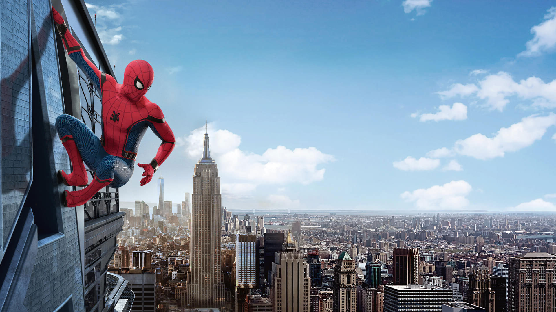 Spider Man Homecoming 2017 Movie Desktop Wallpapers 1920x1080