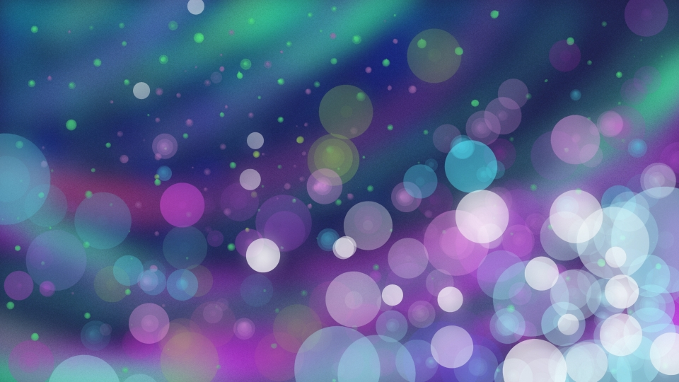 Blurred Out Of Focus Colored Spot Background Color Colorful 960x540