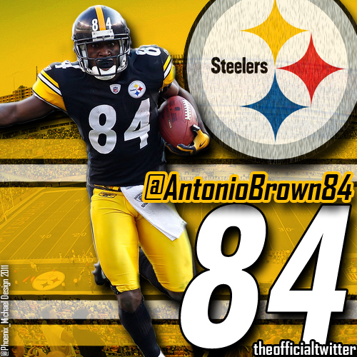 Antonio Brown Wallpaper Antonio brown pittsburgh 500x500