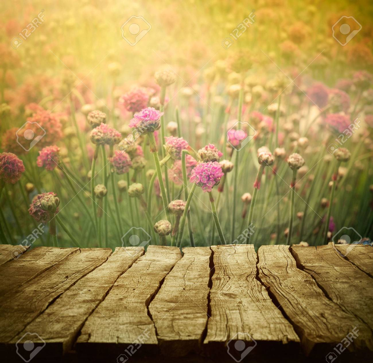 Spring Background With Tabletop Flowers Background Wood Table 1300x1263