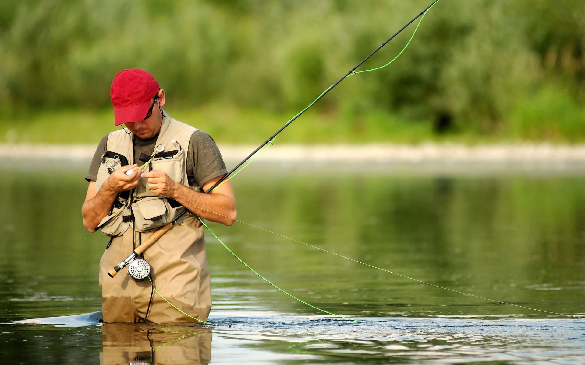 fisherman fly fishing wallpapers55com   Best Wallpapers for PCs 1920x1200