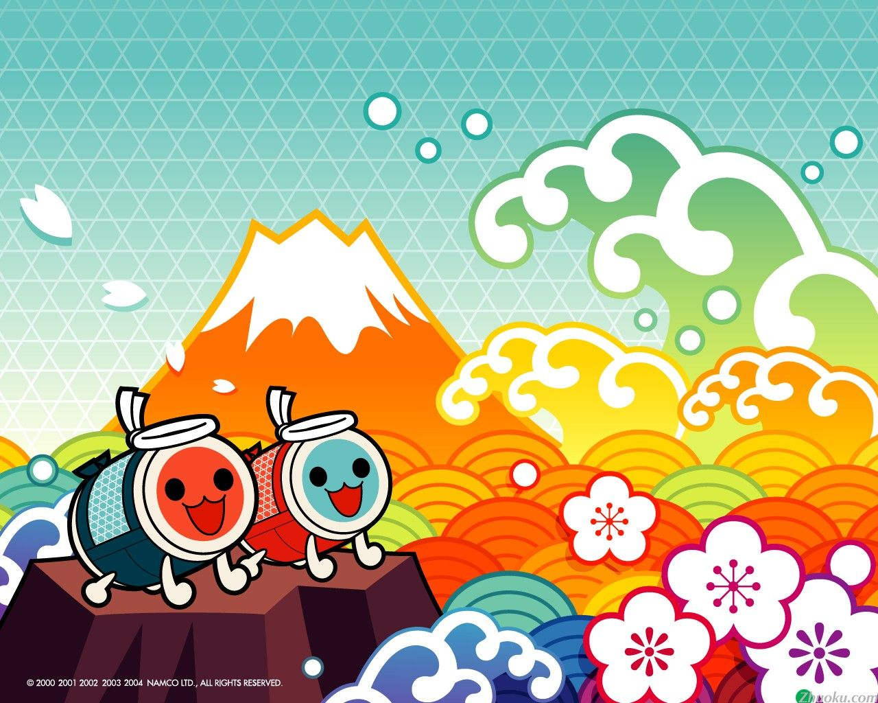 Taiko No Tatsujin The rite Wallpaper Anime 1280x1024
