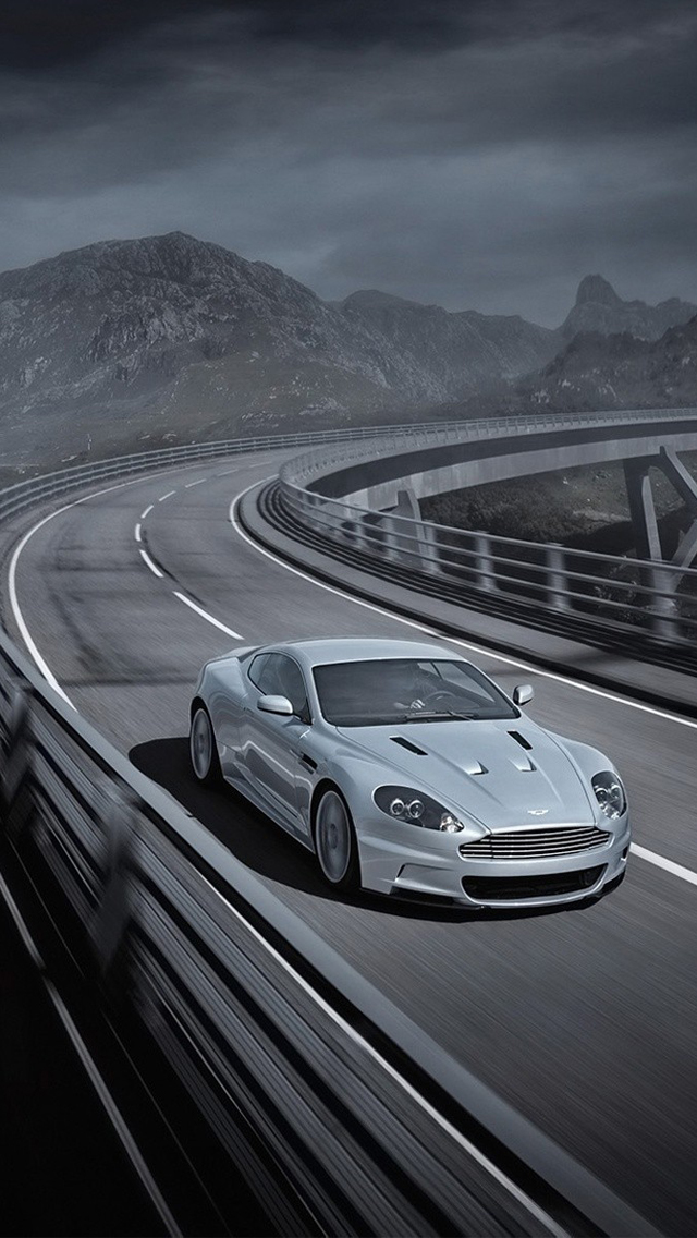Aston Martin DBS iPhone 5s Wallpaper Download iPhone Wallpapers 640x1136