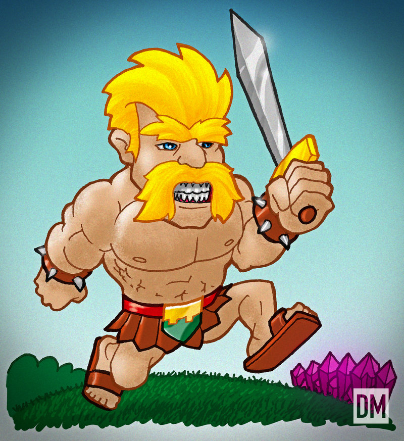Clash of Clans Barbarian Wallpaper Clash of Clans Barbarian 800x873