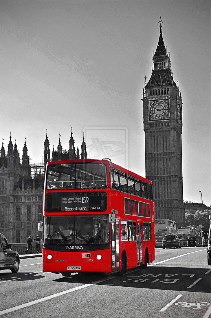 London Red Bus by AlanSmithers 729x1097