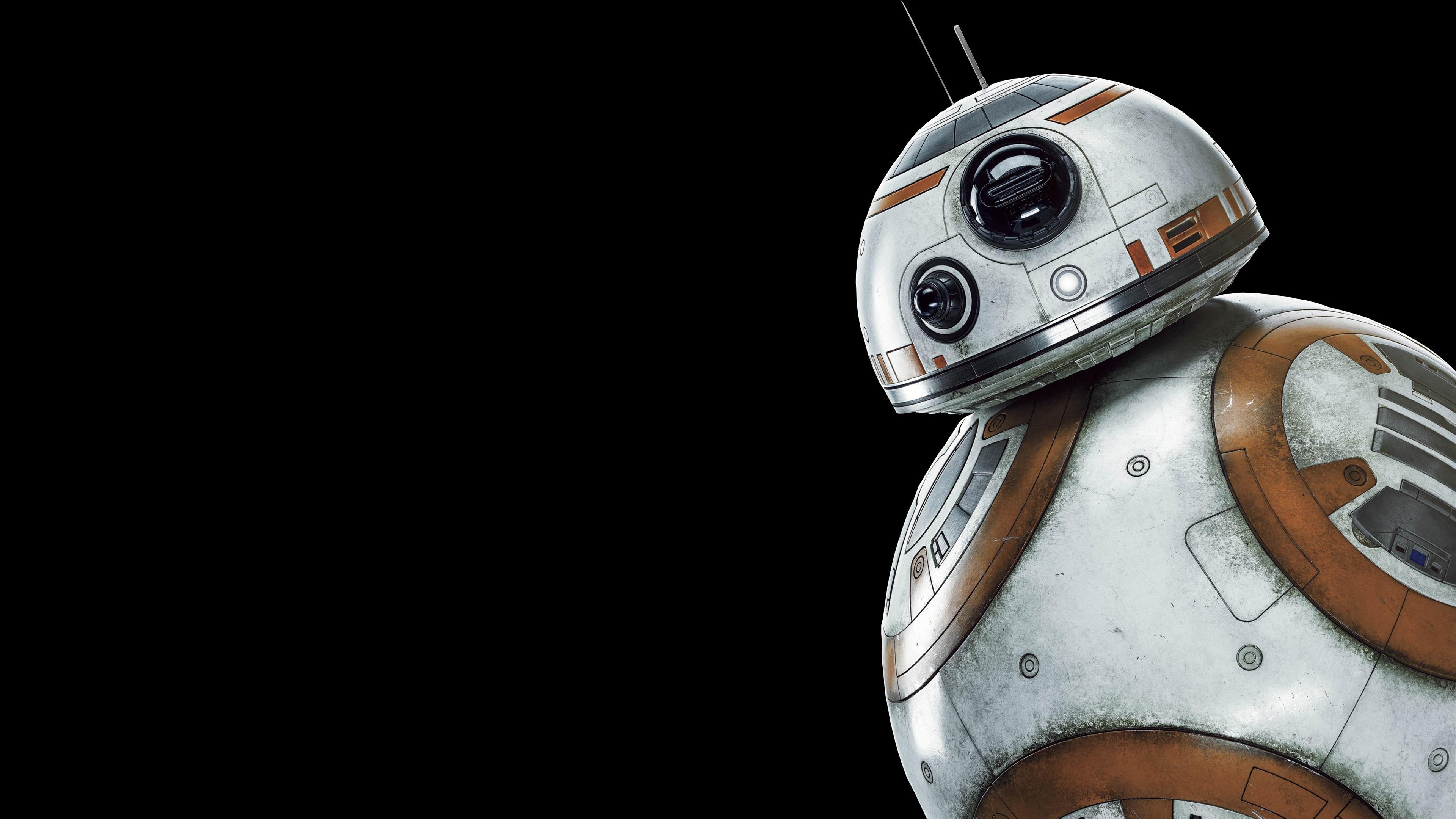 Wallpaper BB8 robot Star Wars 3840x2160 UHD 4K Picture Image 3840x2160