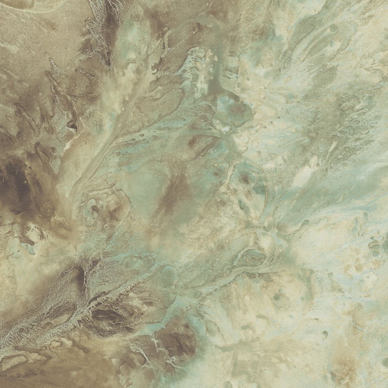 Wallpaper Paper Illusion Birdseye Marble Burnished Teal Paper 800x800