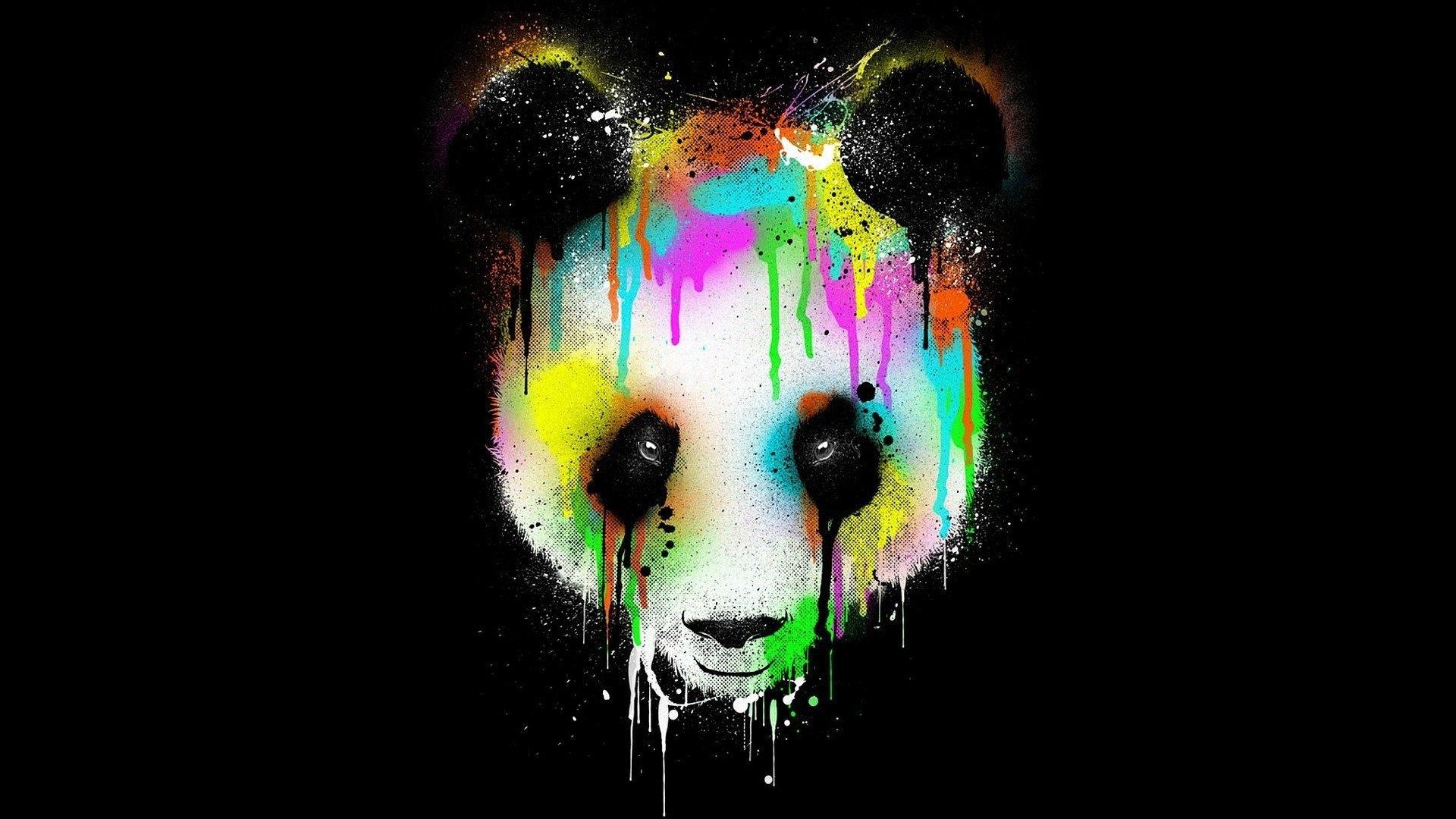 Colorful Tree Panda Song Wallpaper Wallpapersafari