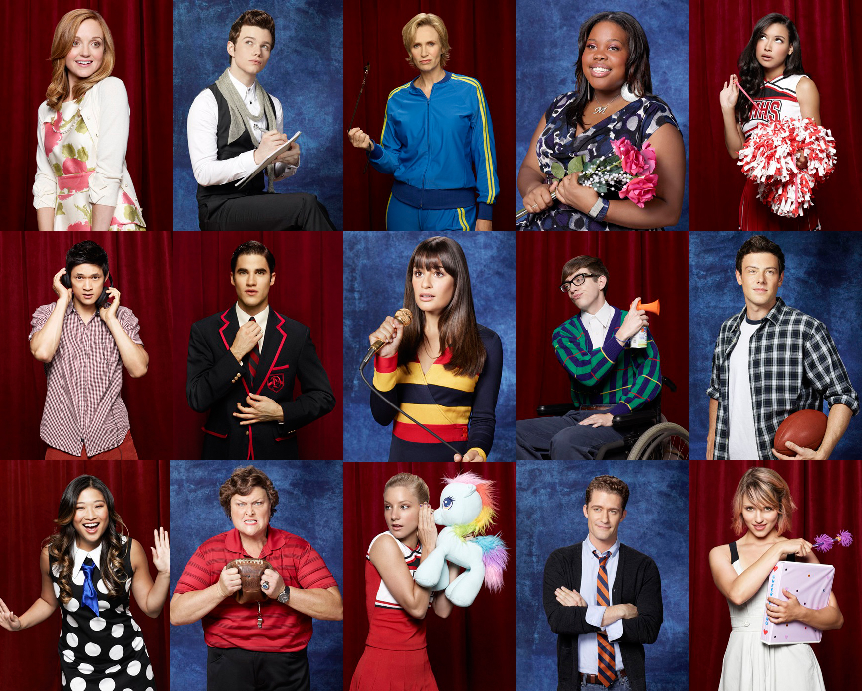 50+] Glee Season 3 Wallpaper on WallpaperSafari