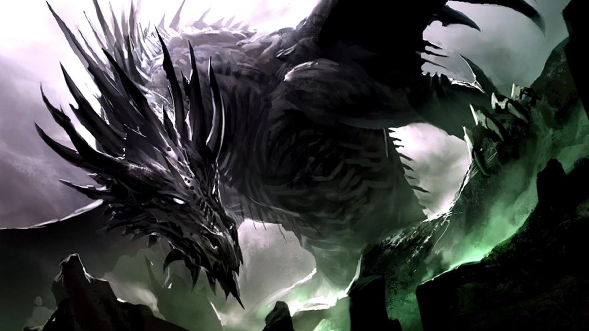 black dragon wallpaper hd