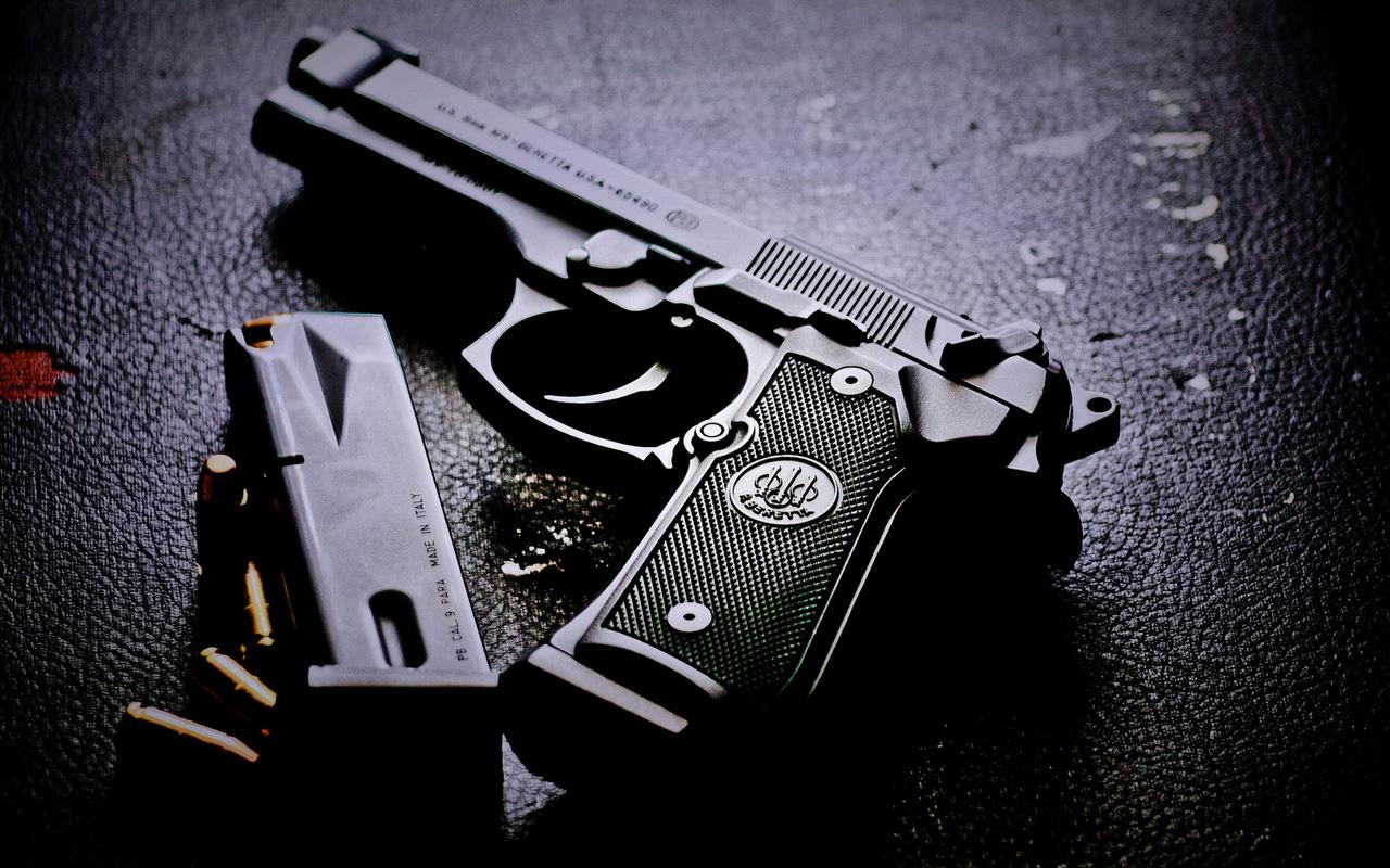 pistol wallpaper - wallpapersafari