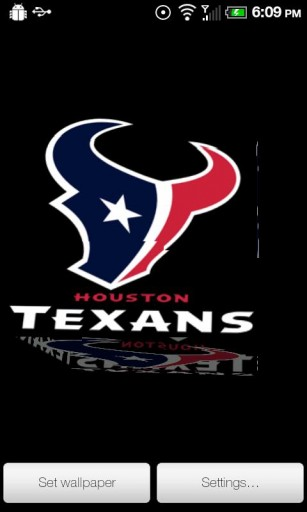 View bigger   Texans Live Wallpaper for Android screenshot 307x512