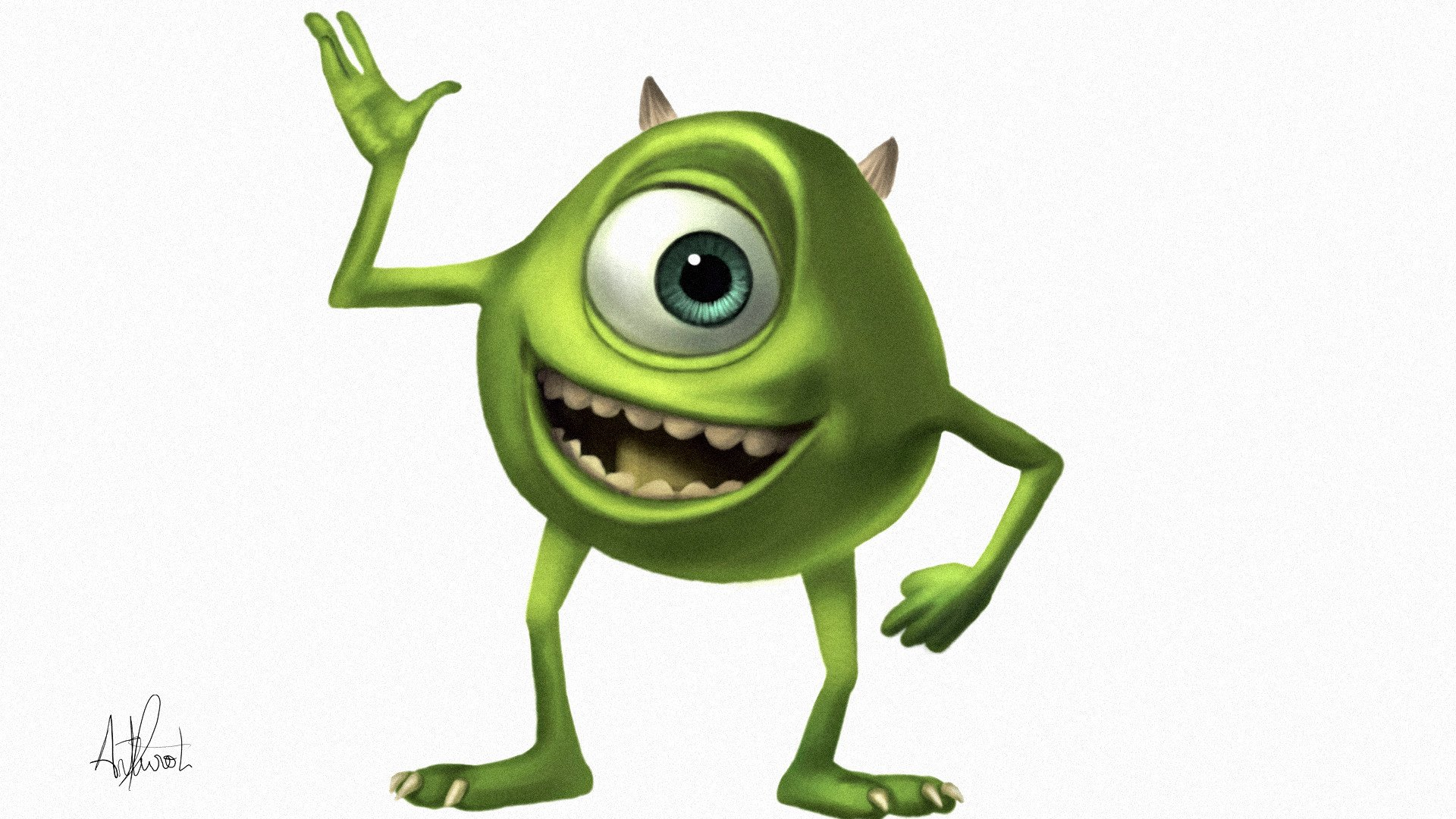 Mike Wazowski Wallpaper Wallpapersafari