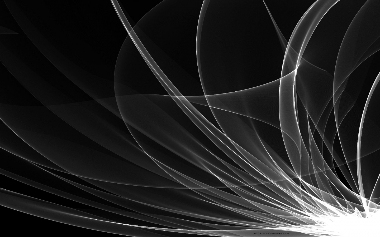 Black And White Abstract Backgrounds 1440x900