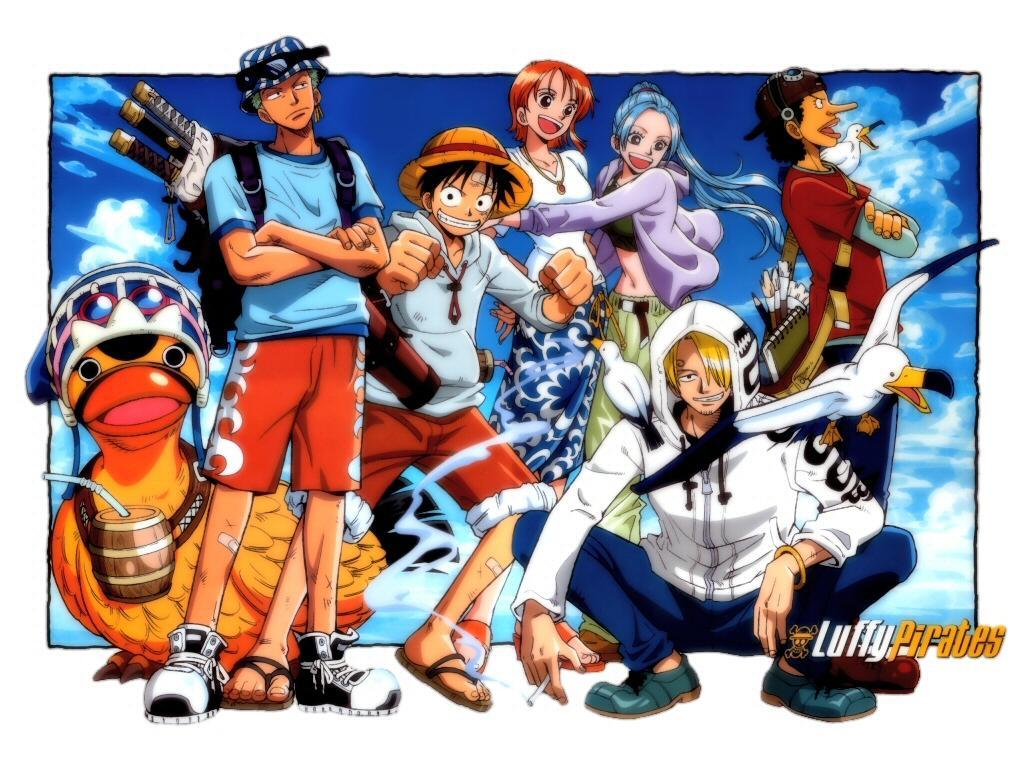 One Piece Anime Digital Artworks   One Piece Discoveries One Piece 1024x768