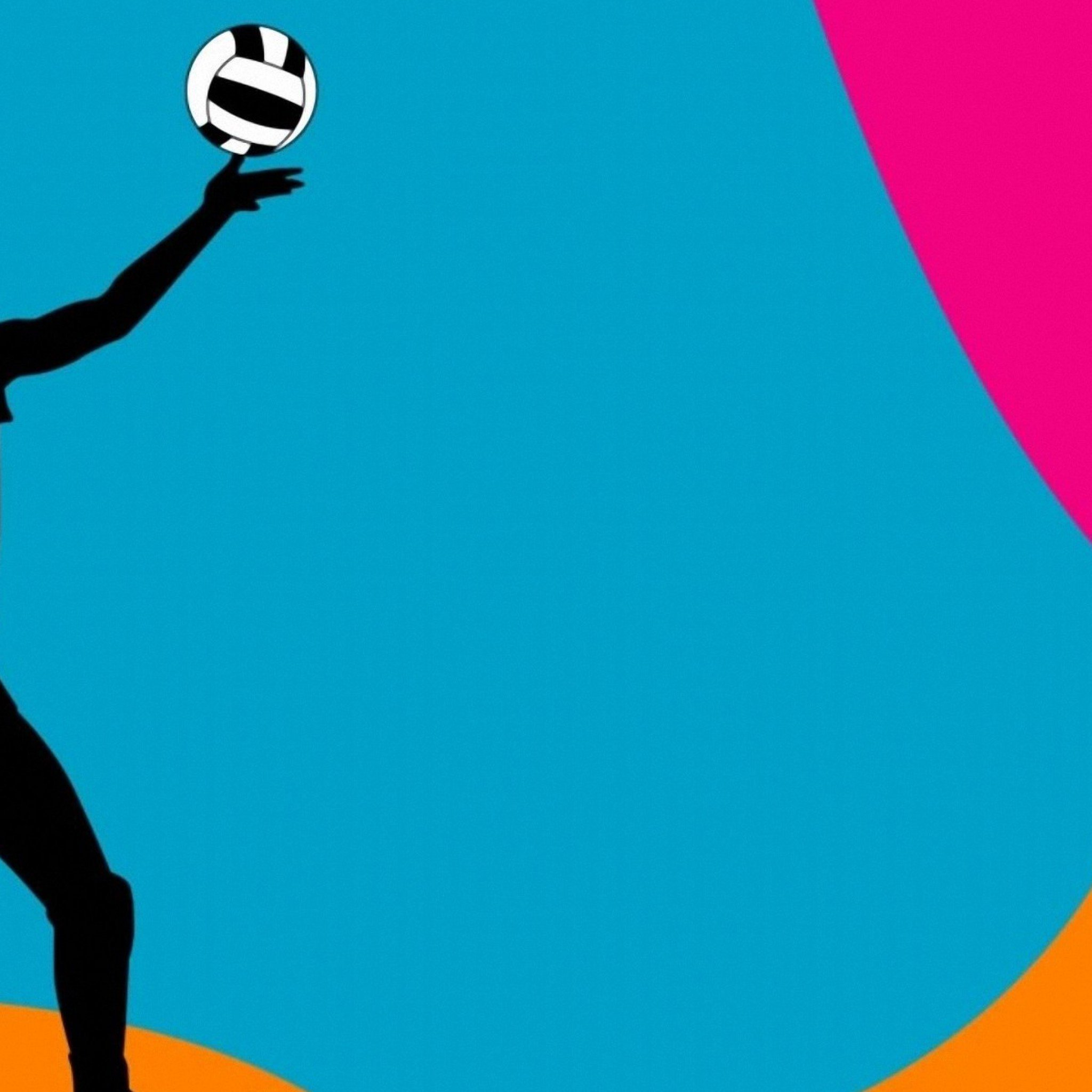 Free volleyball wallpapers and backgrounds wallpapersafari colorful volleyball ball backgrounds colorful volleyball background 2048x2048 toneelgroepblik Image collections