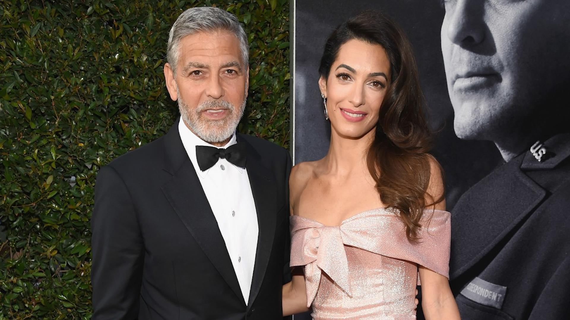 George Clooney Hobbles Onto Plane With Amal In First Sighting 1920x1080