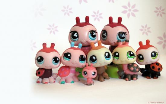 Littlest Pet Shop images lps lady bug family wallpaper photos 550x344