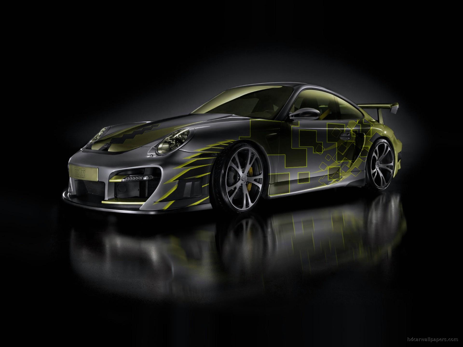 2007 <b>Porsche 911 Turbo</b> - Interior - <b>1280x960</b> - <b>Wallpaper</b>