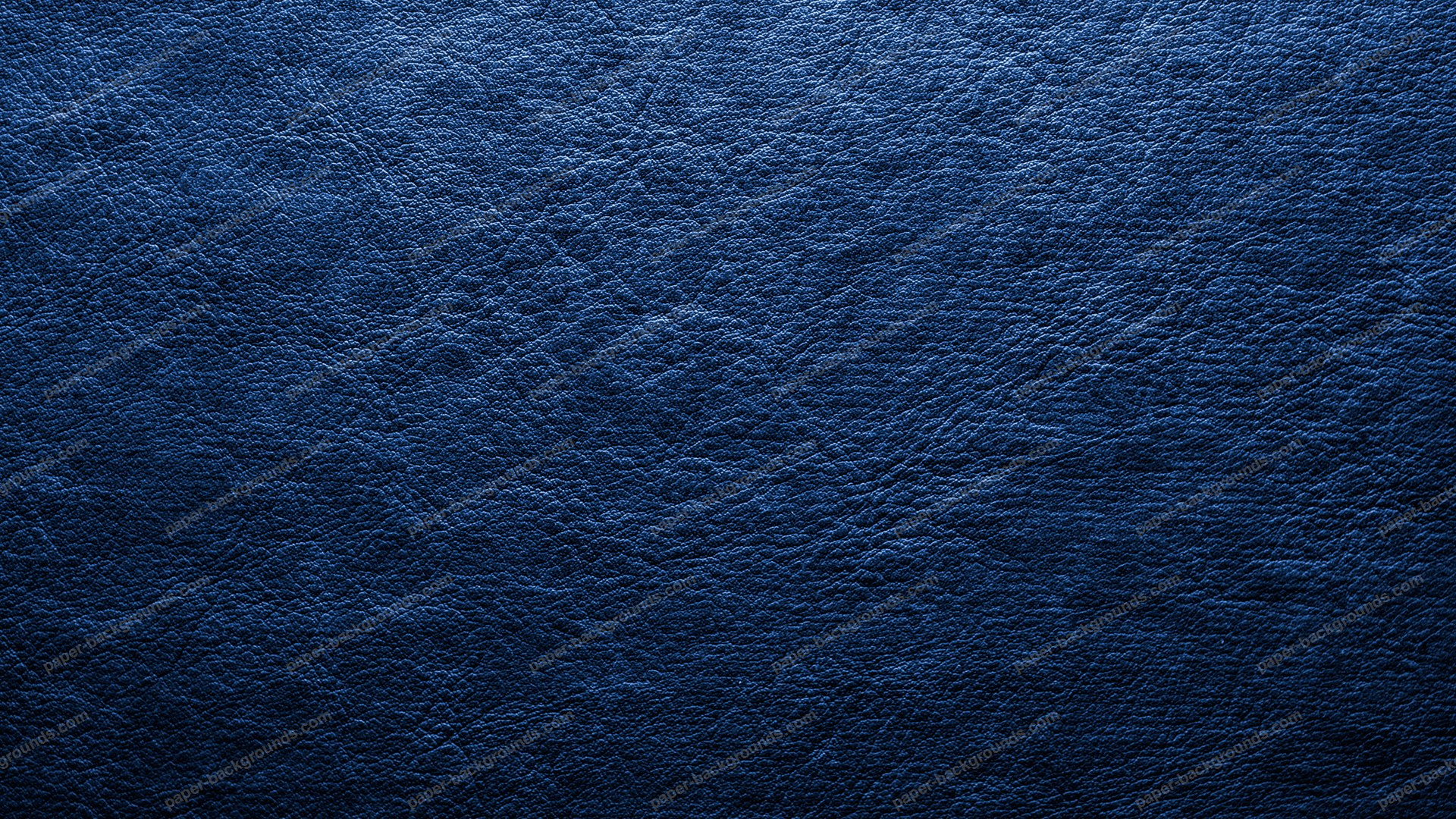 Paper Backgrounds Dark Blue Leather Background 1920x1080