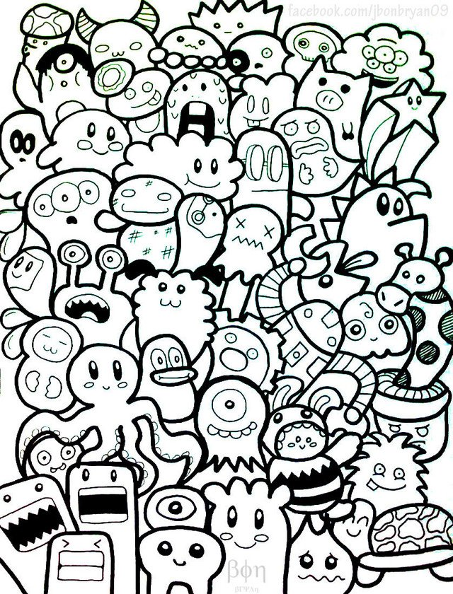 images of how to draw doodle design wallpaper 640x840