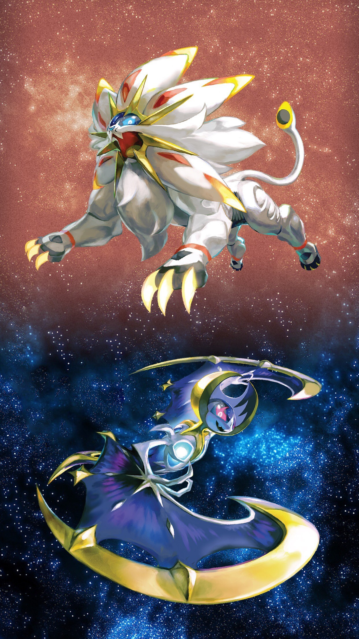 Solgaleo Wallpaper posted by John Sellers 1242x2208