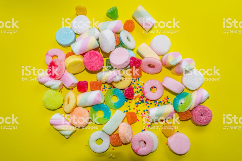 Gummies And Candies Wallpaper Stock Photo More Pictures of 1024x682