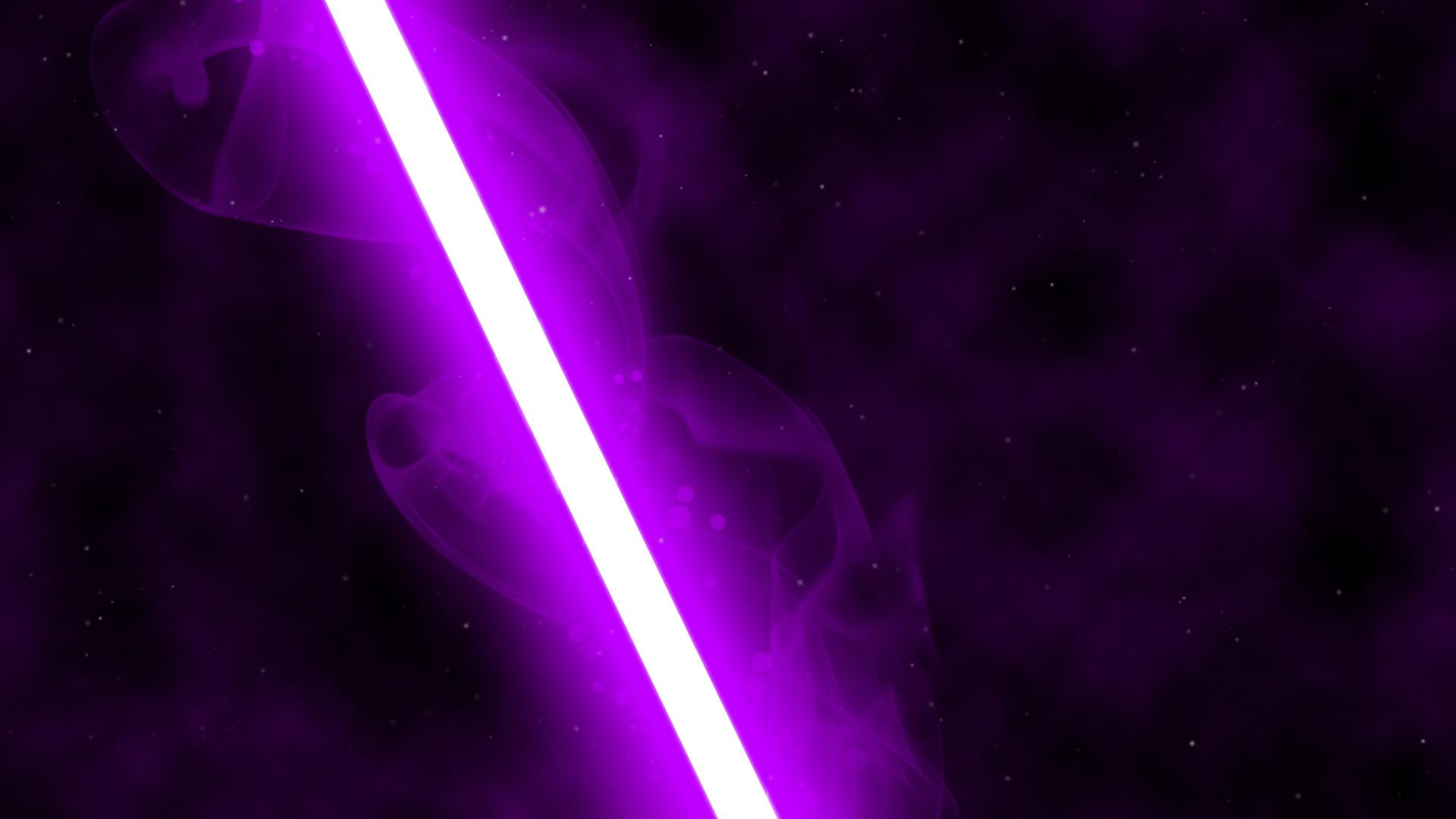 48+] Purple Lightsaber Wallpaper on