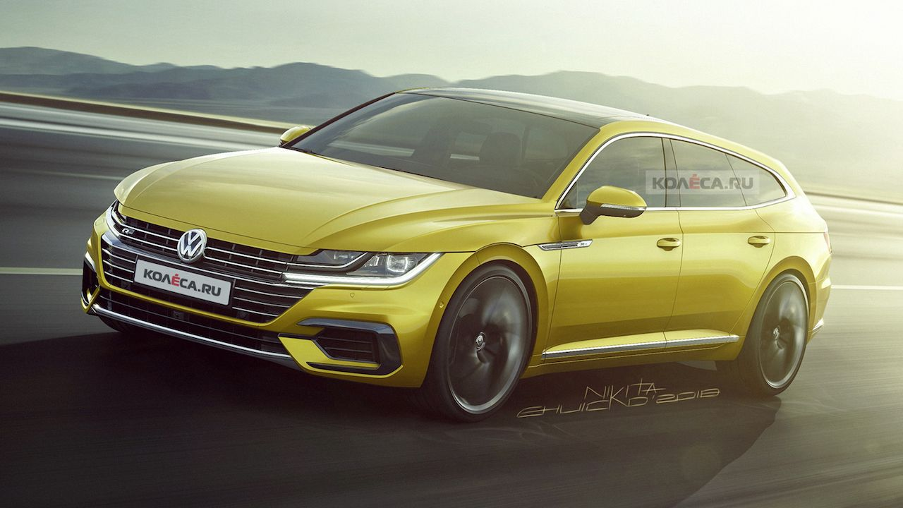 VW Arteon Shooting Brake imagined   Rendering Cars Daily updated 1280x720