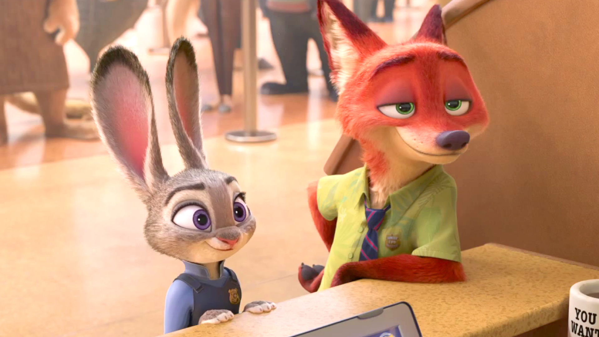43 Zootopia Hd Wallpaper On Wallpapersafari