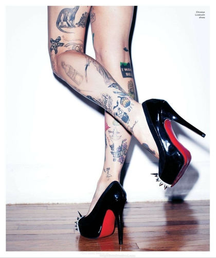 Pin Inked Girl Wallpaper Zimg Froblog 420x502