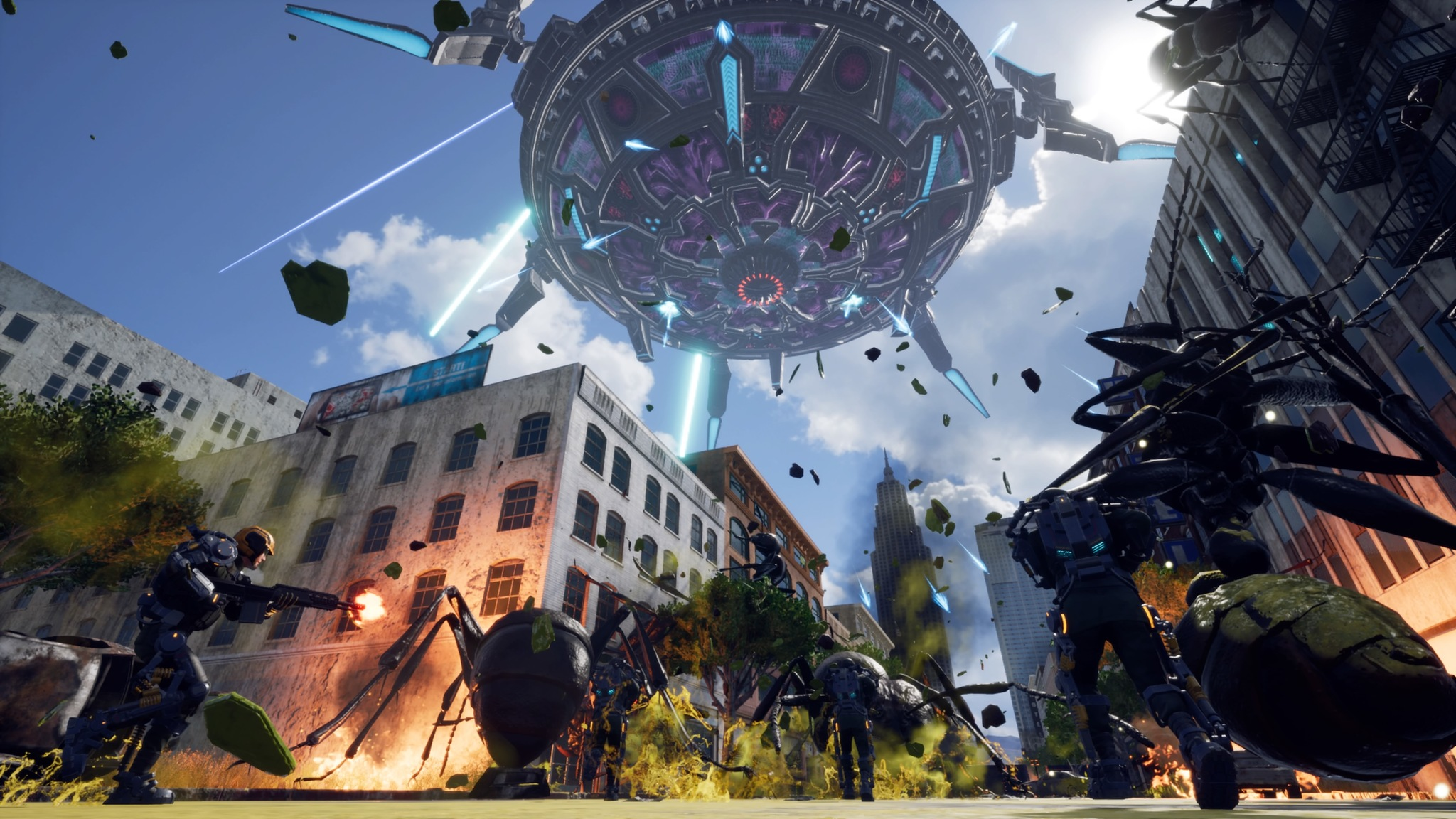 Earth Defense Force Iron Rain review   Polygon 2048x1152