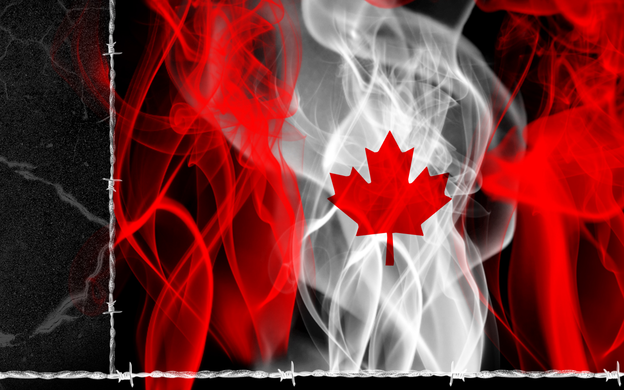 FunMozar Canada Flag Wallpapers 1280x800