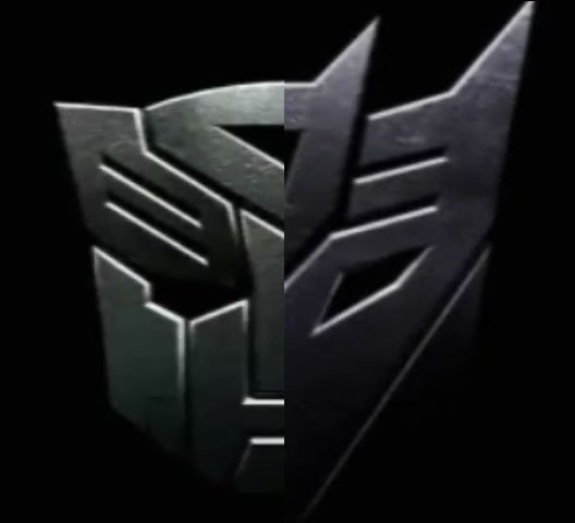 Autobot Decepticon badge gif by McCurleyFries 528x480