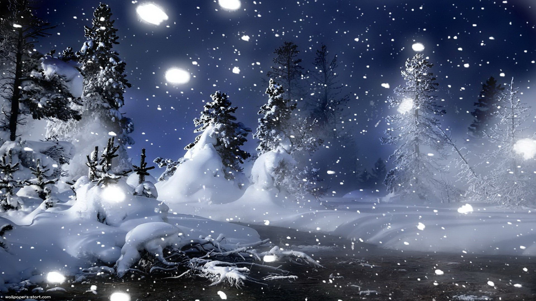 50+ Live Snow Falling Wallpaper on WallpaperSafari