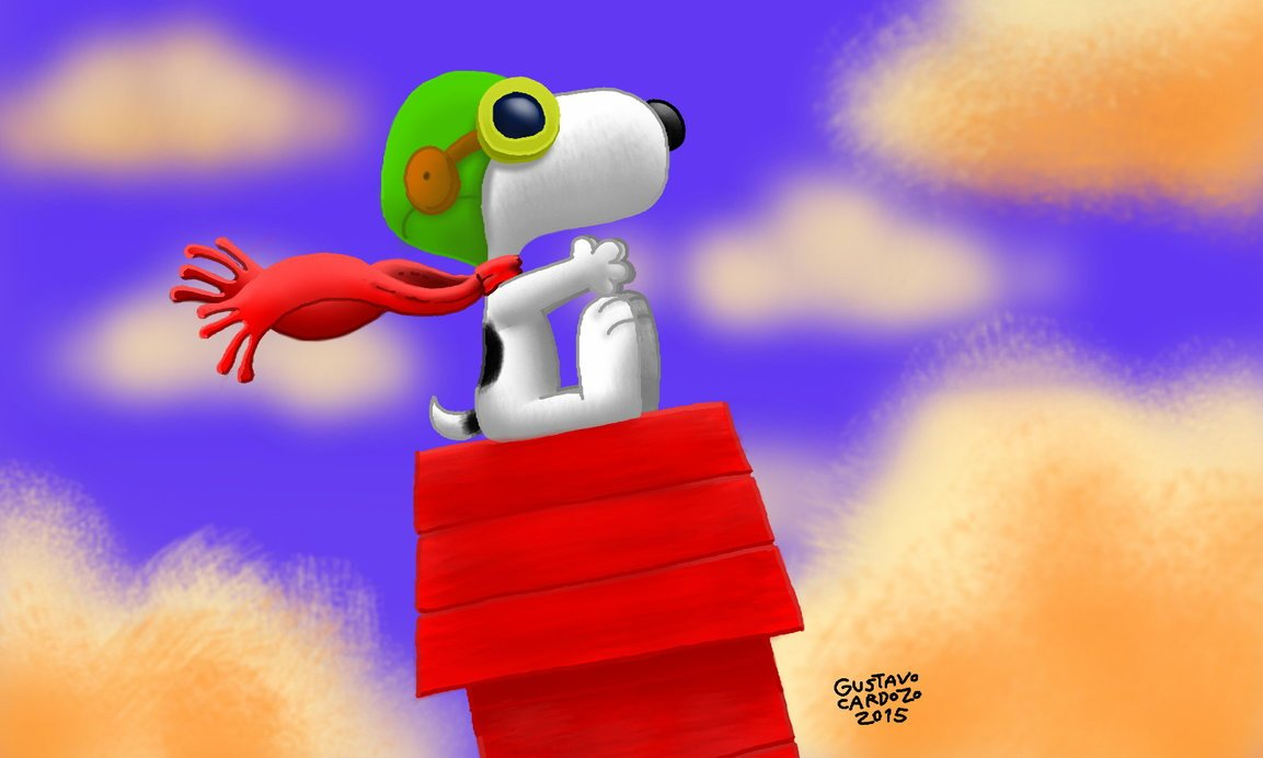 Snoopy Flying Ace by Cooperstown Bears at The Toy Shoppe |Snoopy Ace