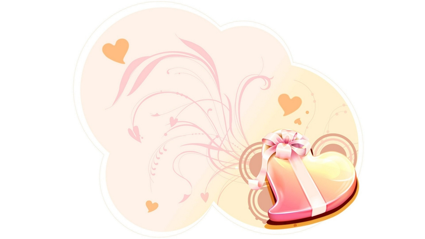 love more beautiful with some romantic valentine s day love wallpapers 1366x768