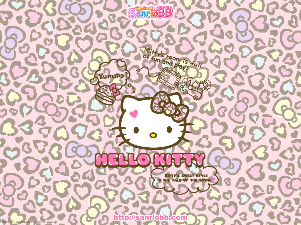 1024x768px Cute Hello Kitty Wallpaper Desktop Wallpapersafari