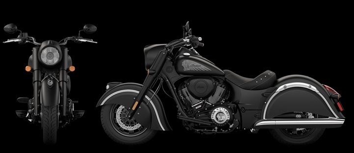 Indian Chief Dark Horse Cruiser Launched in India 721x311