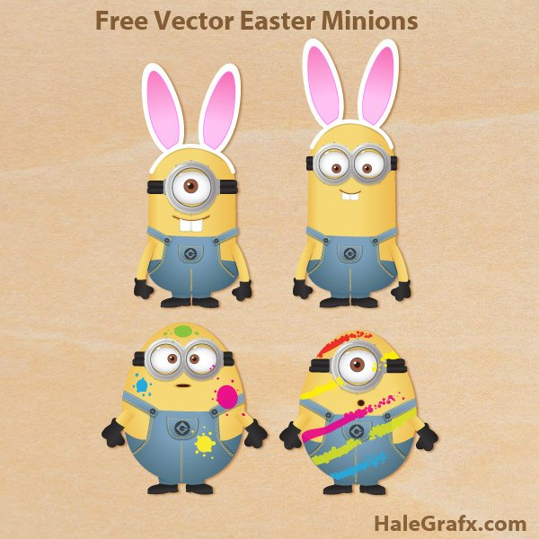 Easter Bunny Minion Quotes QuotesGram 600x600
