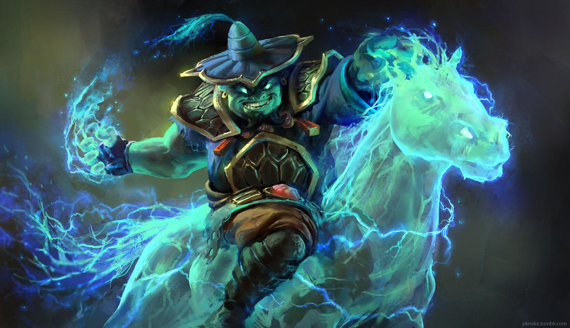 Raijin Thunderkeg the Storm Spirit   Dota 2 wallpaper 2000x1150