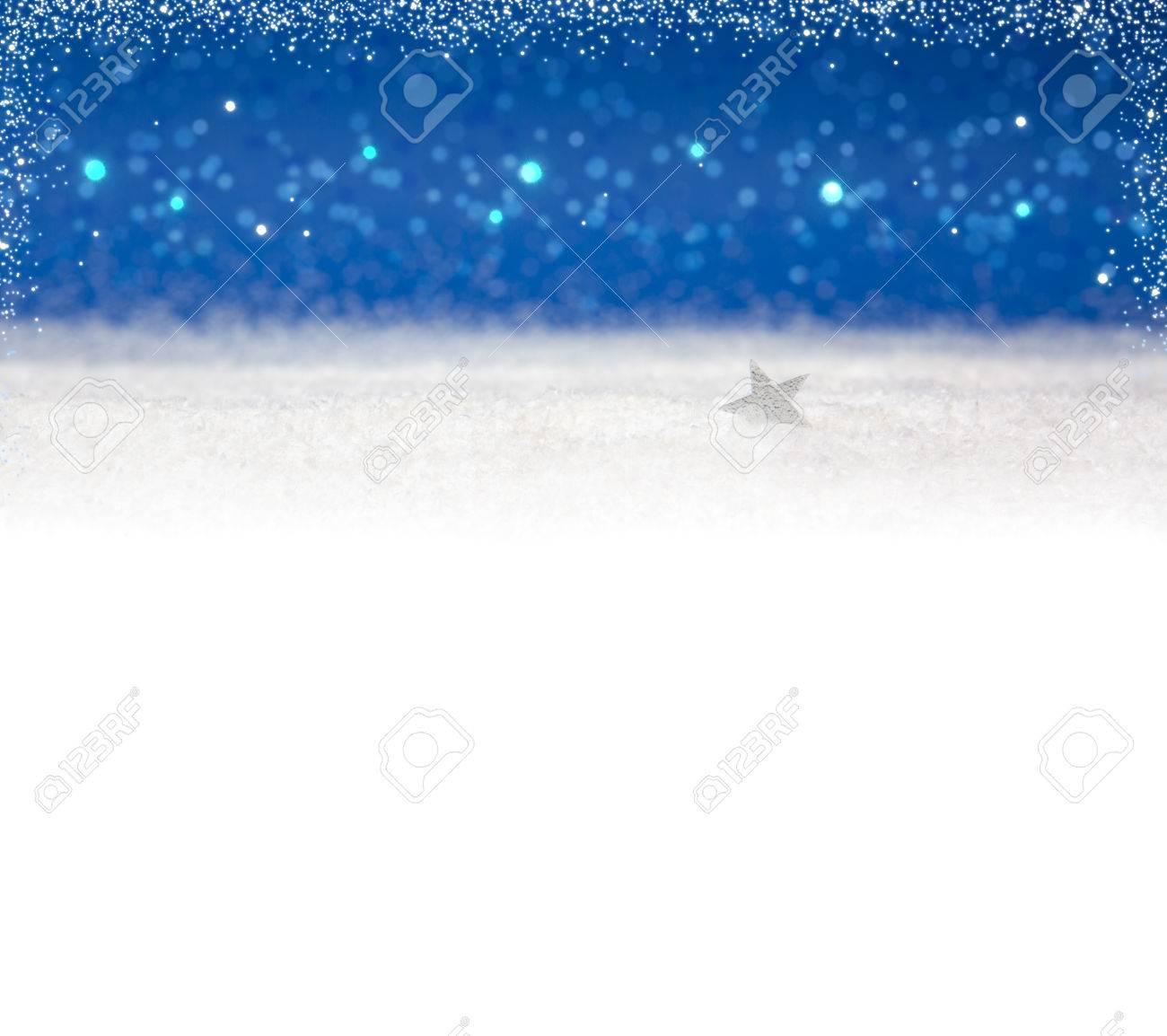 Invierno De Fondo De Navidad Y StarWhite Nieve Y Azul Background 1300x1154