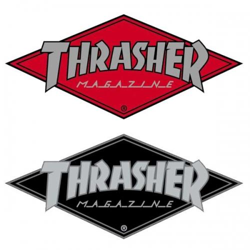 Thrasher Logo Thrasher diamond logo sticker 500x500