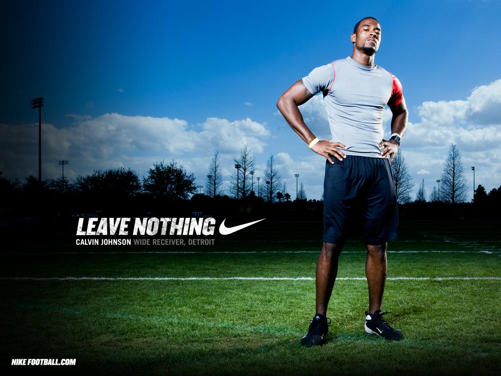 Nike Motivation Backgrounds Nfl nike football motivational 1024x768