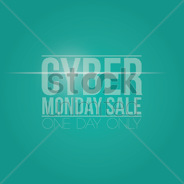 Cyber monday sale wallpaper Vector Clipart   1613171 StockUnlimited 600x600