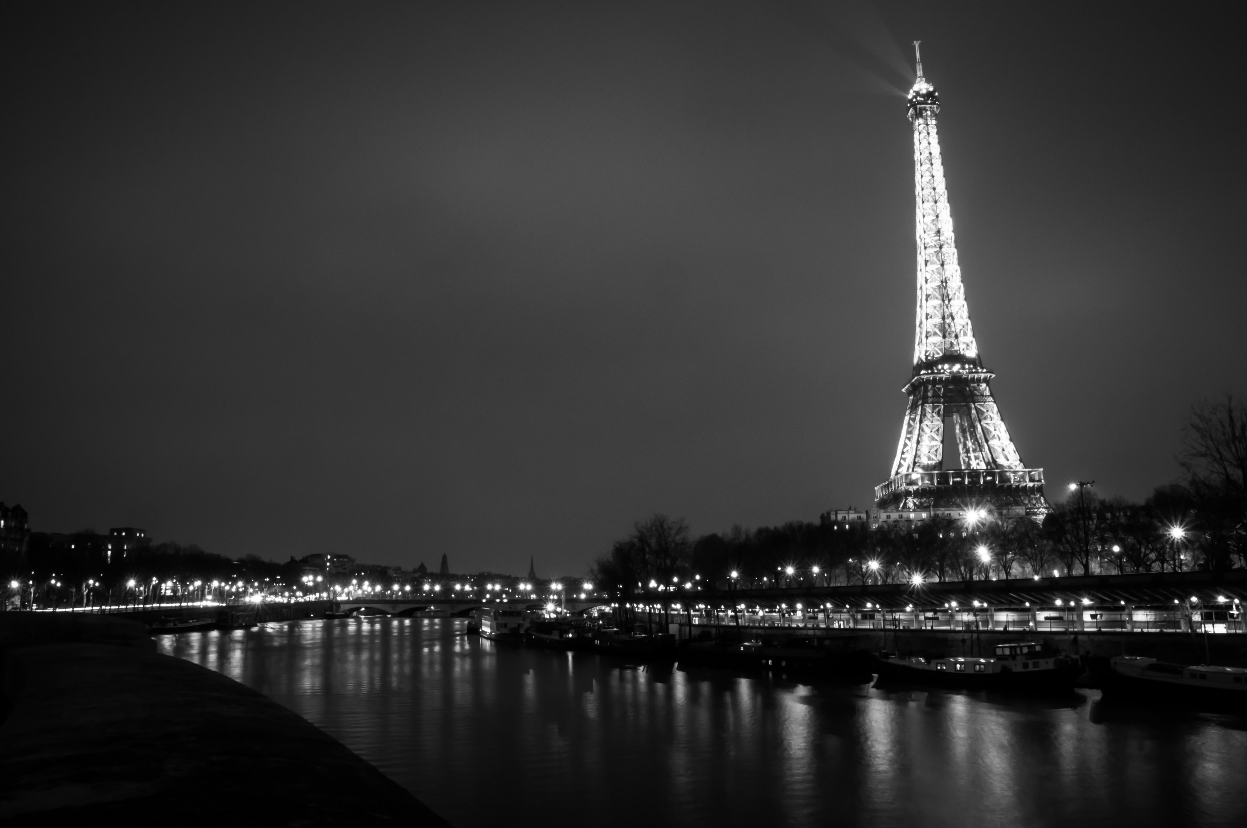 Free Download Viewing Gallery For Black And White Vintage Eiffel