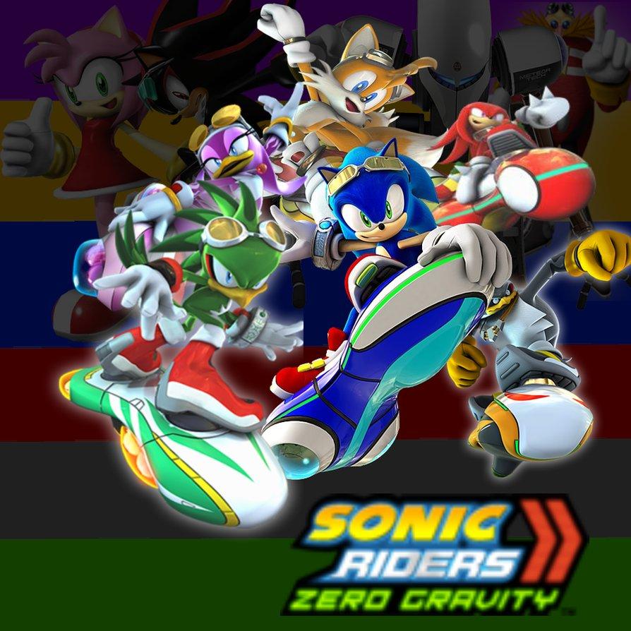 Sonic Riders Zero Gravity Wallpaper Wallpapersafari