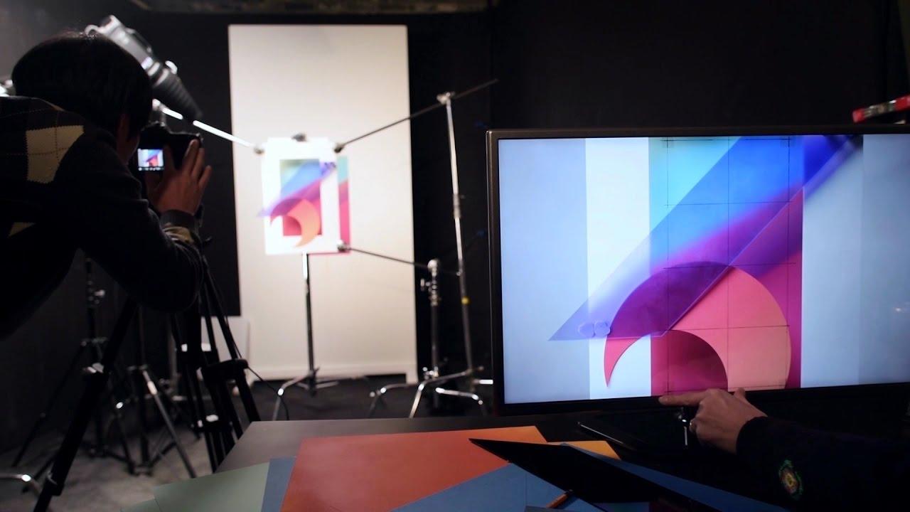 LG G6 Wallpaper Making Film 1280x720