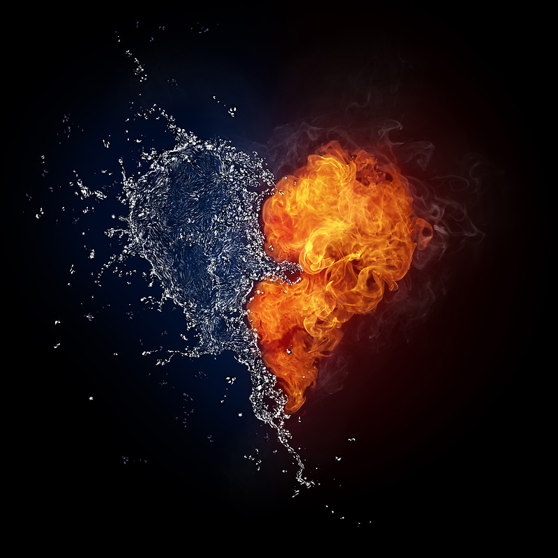 Love Fire And Water Asus Transformer Pad Infinity 700 Wallpaper 800x800