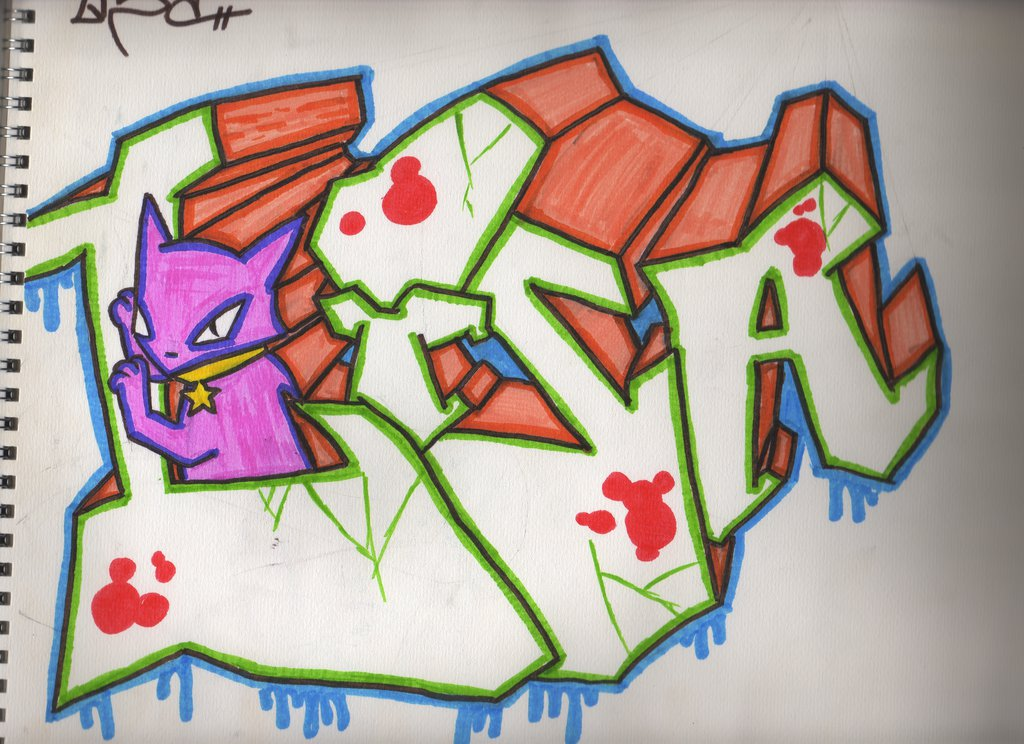 картинки имя лиза в граффити интернет такие